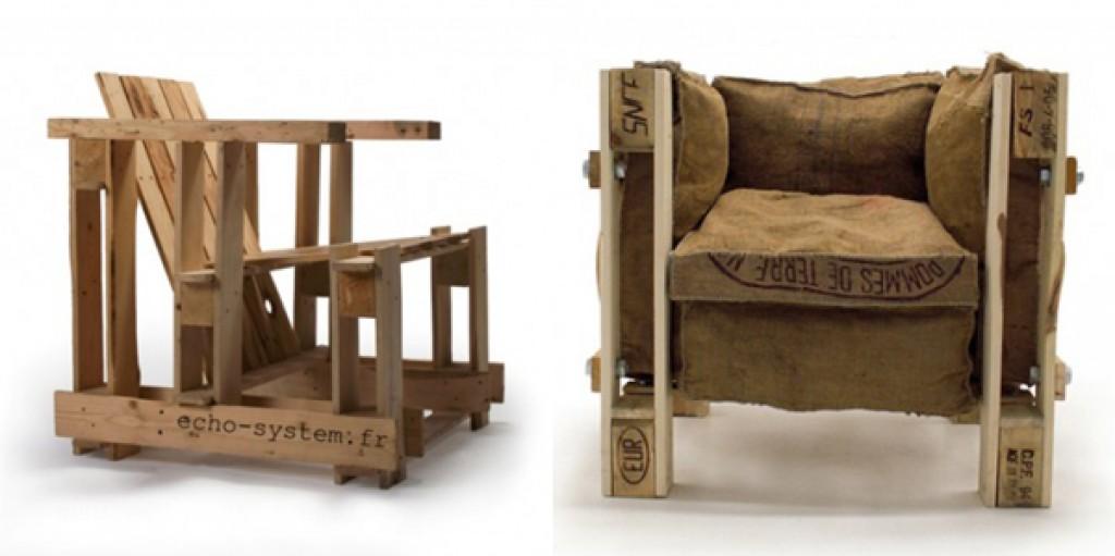 Le Corbusier chair riciclata